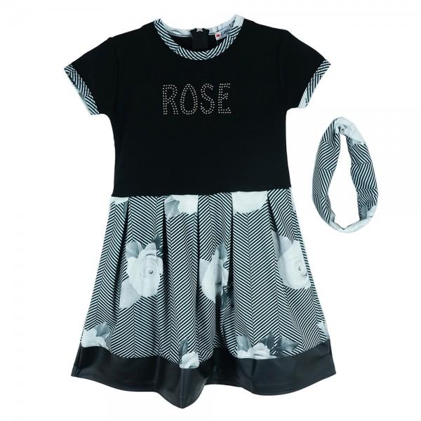 730a3abeaac6 Παιδικό Φόρεμα Εβίτα 163171 Μαύρο Κορίτσι