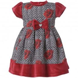 Βρεφικό Φόρεμα Boutique 44-116445-7 Φλοράλ Κορίτσι