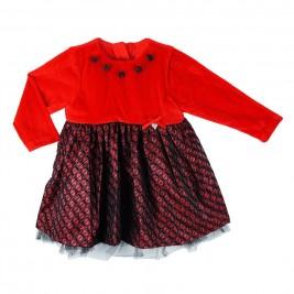 Παιδικό Φόρεμα Boutique 45-116372-7 Κόκκινο Κορίτσι