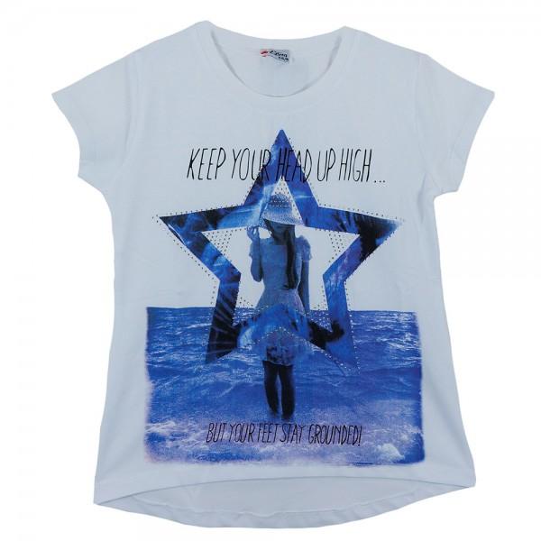 Παιδική Μπλούζα Εβίτα 162151 Λευκό Κορίτσι. Παιδικά Ρούχα - Παιδική ... 8669e15f481