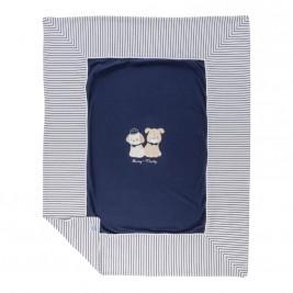 Βρεφική Κουβέρτα Mayoral 9385 Μπλε Αγόρι