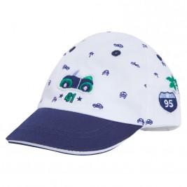 Βρεφικό Καπέλο Mayoral 9477 Λευκό Αγόρι