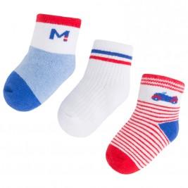 Βρεφικές Κάλτσες Σετ Mayoral 9456 Κόκκινο Αγόρι