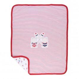 Βρεφική Κουβέρτα Mayoral 9387 Κόκκινο Αγόρι