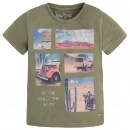 Παιδική Μπλούζα Mayoral 3023 Χακί Αγόρι