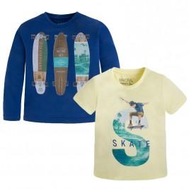 Παιδικό Σετ Μπλούζες Mayoral 3049 Μπλε Αγόρι