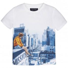 Παιδική Μπλούζα Mayoral 6001 Λευκό Αγόρι