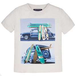 Παιδική Μπλούζα Mayoral 6017 Μπεζ Αγόρι