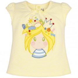 Βρεφική Μπλούζα Mayoral 1059 Κίτρινο Κορίτσι