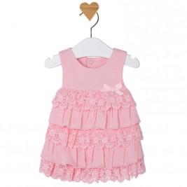 Βρεφικό Φόρεμα Mayoral 1849 Ροζ Κορίτσι