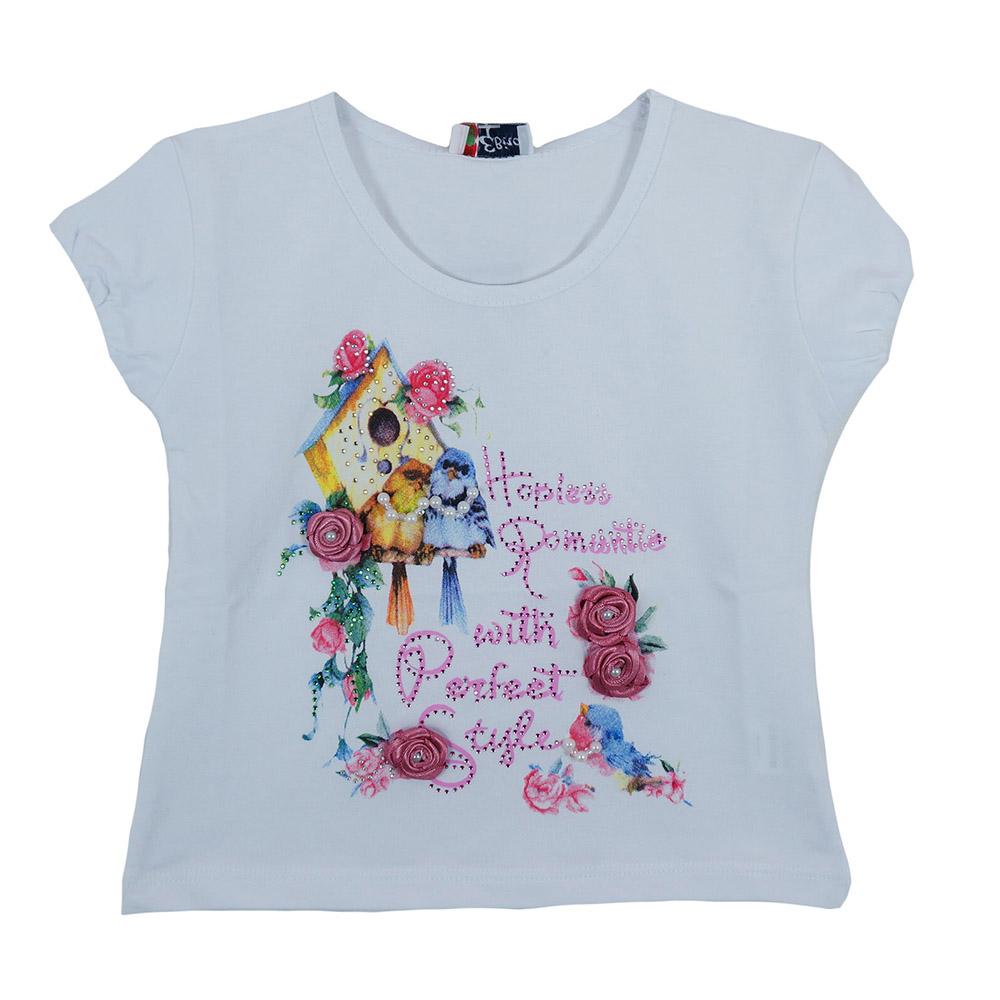 1470fbabf8f ... Ρούχα>Παιδική Μπλούζα Εβίτα 162336 Λευκό Κορίτσι. ΟFFER. 007289. 007289