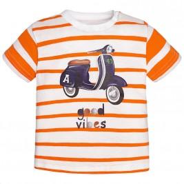Βρεφική Μπλούζα Mayoral 1011 Πορτοκαλί Αγόρι