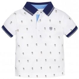 Βρεφική Μπλούζα Mayoral 1123 Λευκό Αγόρι