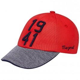 Βρεφικό Καπέλο Mayoral 10128 Κόκκινο Αγόρι