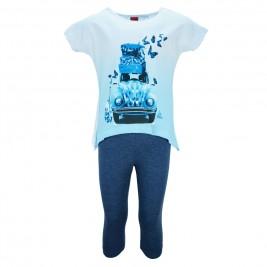 Παιδικό Σετ-Σύνολο Trax 31212 Λευκό Μπλε Κορίτσι