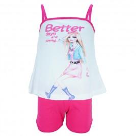 Παιδικό Σετ-Σύνολο Trax 31210 Φούξια Κορίτσι