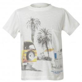 Παιδική Μπλούζα Energiers 12-217129-5 Λευκό Αγόρι