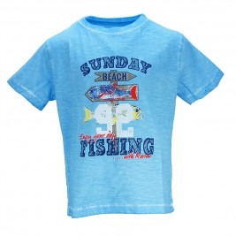 Παιδική Μπλούζα Energiers 12-217138-5 Σιέλ Αγόρι