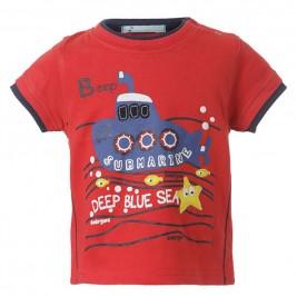 Βρεφική Μπλούζα Energiers 11-217450-8 Κόκκινο Αγόρι
