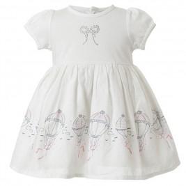 Βρεφικό Φόρεμα Energiers 14-217400-3 Λευκό Κορίτσι