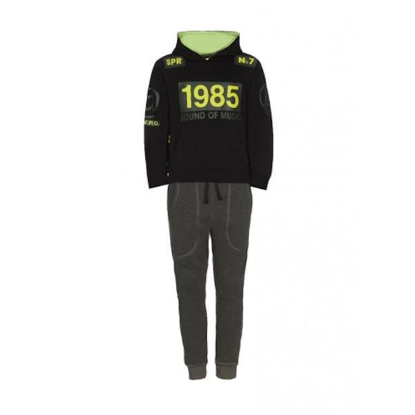 58af223287b ... Ρούχα>Παιδική Φόρμα-Σετ Sprint 21581529 Μαύρο Αγόρι. ΟFFER. 006143