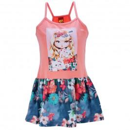 Παιδικό Φόρεμα Trax 31236 Σομόν Κορίτσι