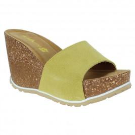 Γυναικεία Πλατφόρμα Walkme 102-028 Κίτρινο