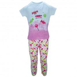 Παιδικό Σετ-Σύνολο Joyce 7004 Λευκό Ροζ Κορίτσι
