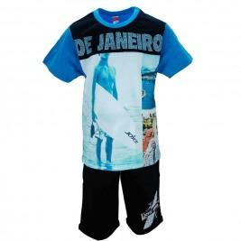 Παιδικό Σετ-Σύνολο Joyce 7365 Γαλάζιο Αγόρι