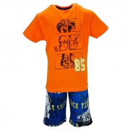 Παιδικό Σετ-Σύνολο Joyce 7169 Πορτοκαλί Αγόρι