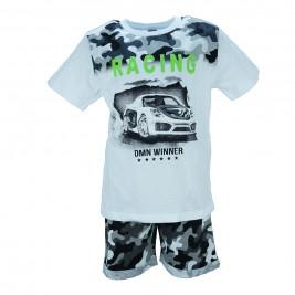 Παιδικό Σετ-Σύνολο Domina 173012 Λευκό Αγόρι