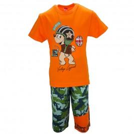 Παιδικό Σετ-Σύνολο Joyce 7163 Πορτοκαλί Αγόρι