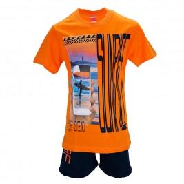 Παιδικό Σετ-Σύνολο Joyce 7378 Πορτοκαλί Αγόρι