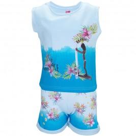 Παιδικό Σετ-Σύνολο Joyce 7024 Λευκό Γαλάζιο Κορίτσι