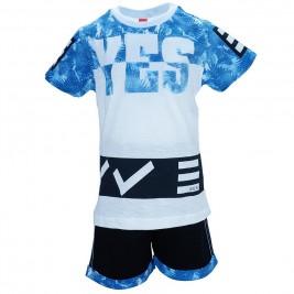 Παιδικό Σετ-Σύνολο Joyce 7379 Μπλε Λευκό Αγόρι