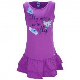 Παιδικό Φόρεμα Domina 173128 Βιολετί Κορίτσι