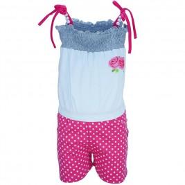 Παιδική Ολόσωμη Φόρμα Domina 173155 Φούξια Κορίτσι