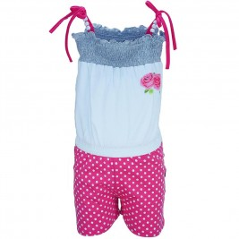 5e5edf96070 Παιδική Ολόσωμη Φόρμα Domina 173155 Φούξια Κορίτσι