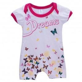 Βρεφική Πυτζάμα Dreams 17021 Ροζ Κορίτσι