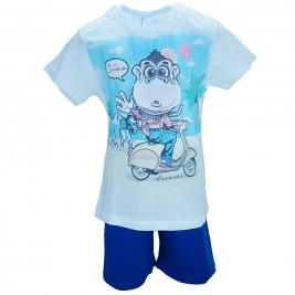 Παιδική Πυτζάμα Dreams 17105 Μπλε Αγόρι