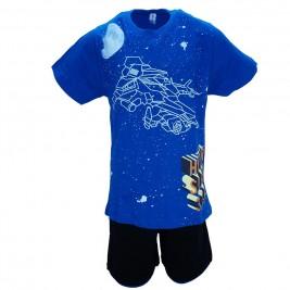 Παιδική Πυτζάμα Dreams 17302 Μπλε Αγορι