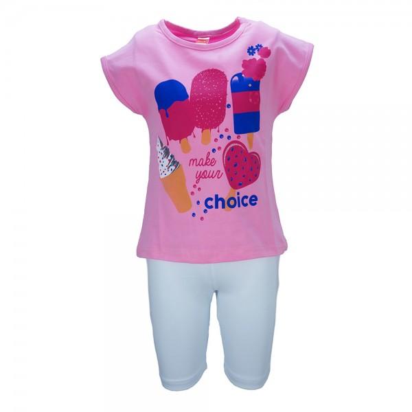 Παιδικό Σετ-Σύνολο Joyce 7009 Ροζ Κορίτσι