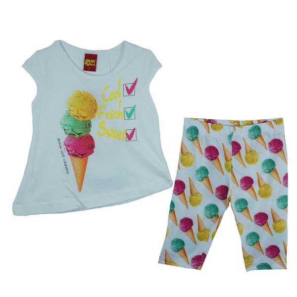 Παιδικό Σετ-Σύνολο Trax 23212 Λευκό Κορίτσι. Παιδικά Ρούχα - Παιδικό ... 962bda6055a