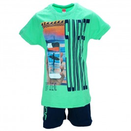 Παιδικό Σετ-Σύνολο Joyce 7378 Πράσινο Αγόρι