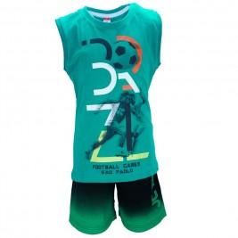 Παιδικό Σετ-Σύνολο Joyce 7394 Πράσινο Αγόρι