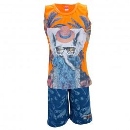 Παιδικό Σετ-Σύνολο Joyce 7194 Πορτοκαλί Αγόρι