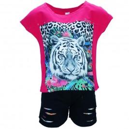 Παιδικό Σετ-Σύνολο Joyce 7227 Φούξια Κορίτσι