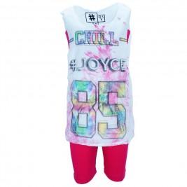 Παιδικό Σετ-Σύνολο Joyce 7212 Φούξια Κορίτσι