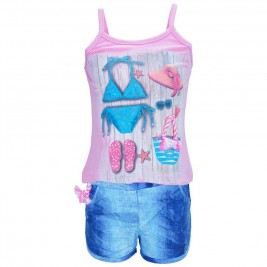 Παιδικό Σετ-Σύνολο Joyce 7217 Ροζ Κορίτσι