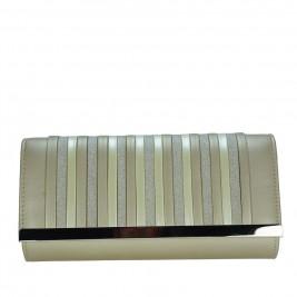 Γυναικείος Φάκελος Verde 01-0001043 Χρυσό